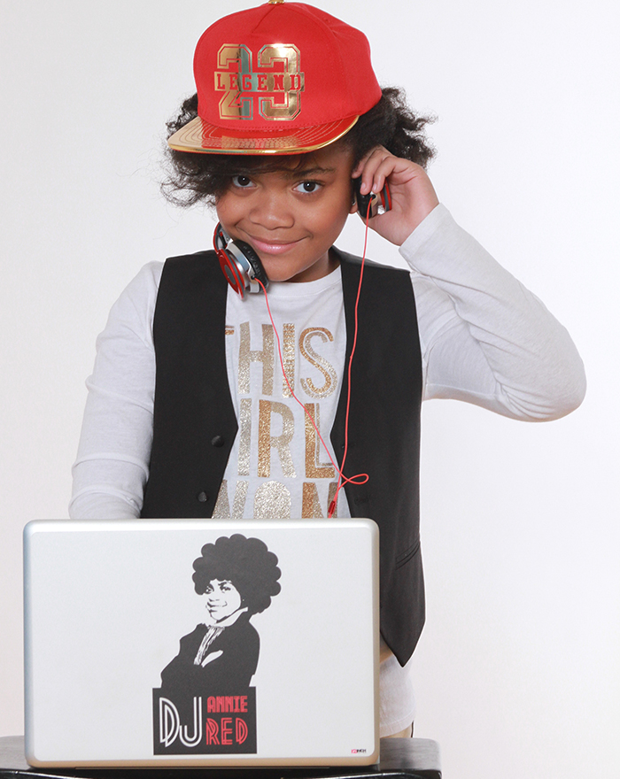 UNSTOPPABLE GIRLS AMBASSADOR<BR>DJ ANNIE RED